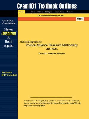Studyguide for Political Science Research Methods by Johnson,ISBN9781568028743
