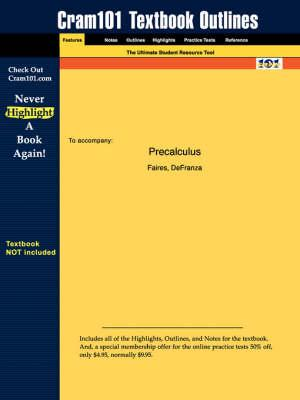 Studyguide for Precalculus by Faires,ISBN9780534462796