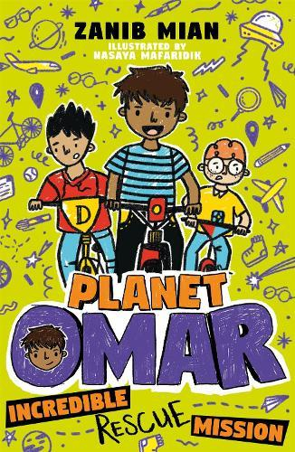 Incredible Rescue Mission (Planet Omar, Book 3)