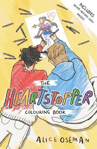 The HeartstopperColouringBook