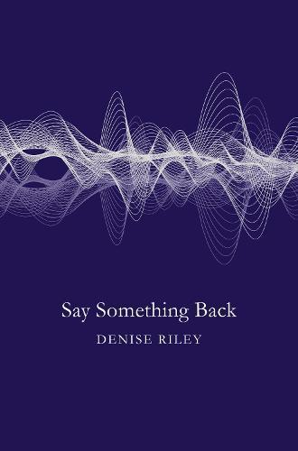 Say Something Back
