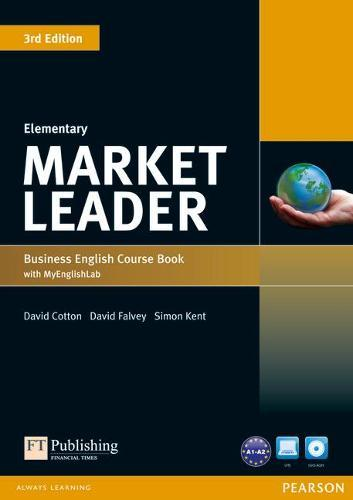 Market Leader 3rd Edition Elementary Coursebook with DVD-ROM and MyEnglishLab Student online accesscodePack