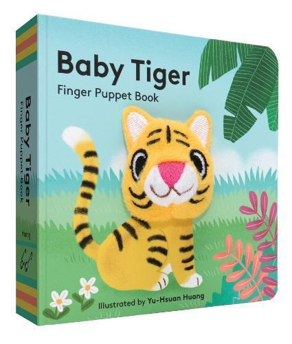 Baby Tiger: FingerPuppetBook