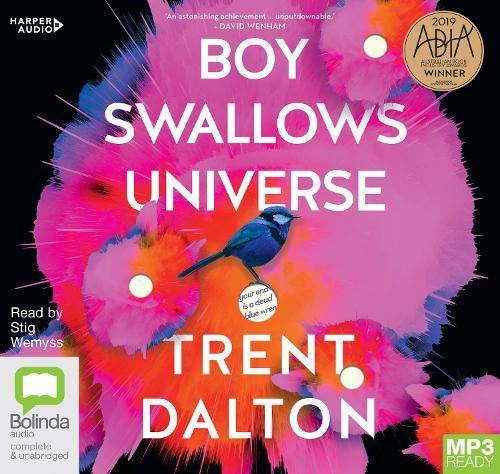 Boy SwallowsUniverse(Audiobook)
