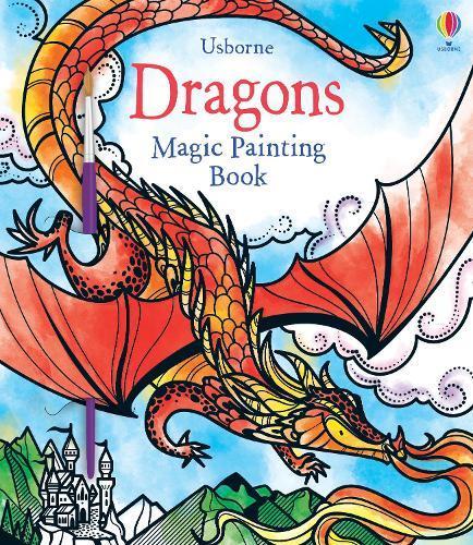 Dragons Magic Painting Book