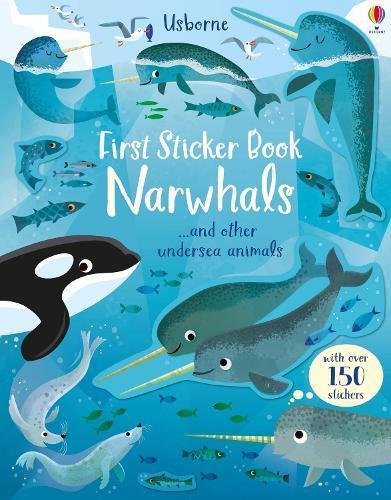 First StickerBookNarwhals