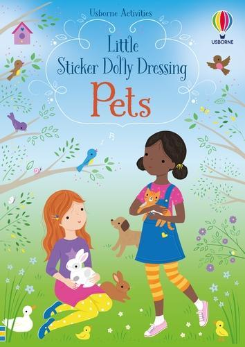 Little Sticker Dolly Dressing Pets