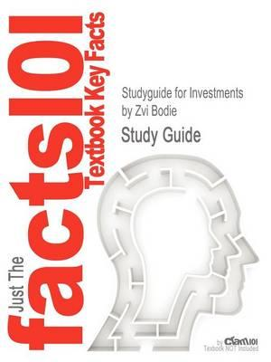 Studyguide for Investments by Bodie, Zvi,ISBN9780073530703
