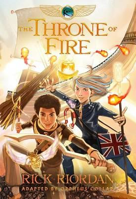 The Throne of Fire (The Kane Chronicles, Book Two): The Graphic Novel