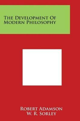 The Development ofModernPhilosophy