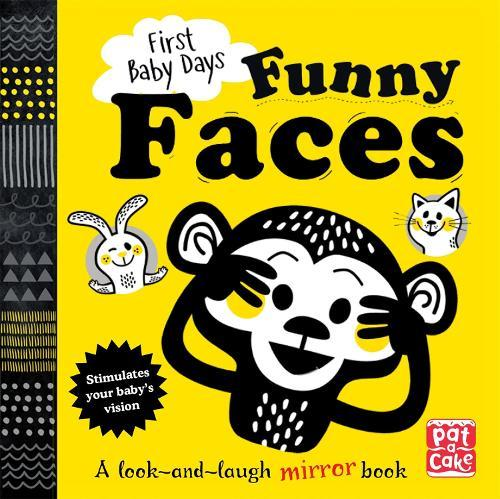 Funny Faces: A look and laugh mirror board book