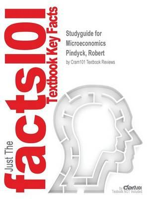 Studyguide for Microeconomics by Pindyck, Robert, ISBN 9780133127249