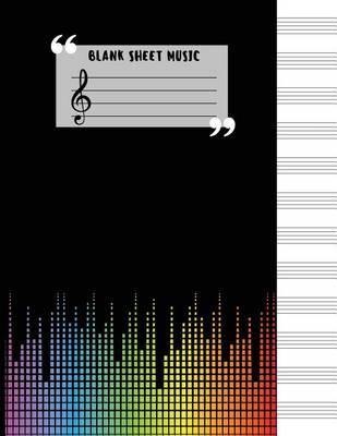 Blank Sheet Music Large Print Blank Sheet Music Notebook 12