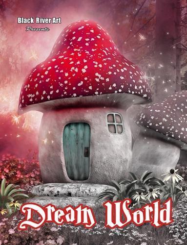 Karlon Douglas Dream World Grayscale Coloring Book