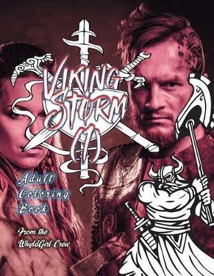 Viking Storm 1 Adult Coloring Book 30 Amazing Viking Coloring