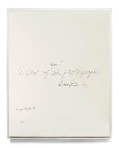 Diane Arbus: A Box ofTenPhotographs