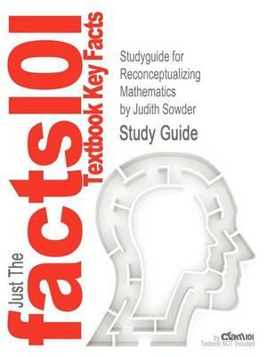 Studyguide for Reconceptualizing Mathematics by Sowder, Judith,ISBN9781429264839