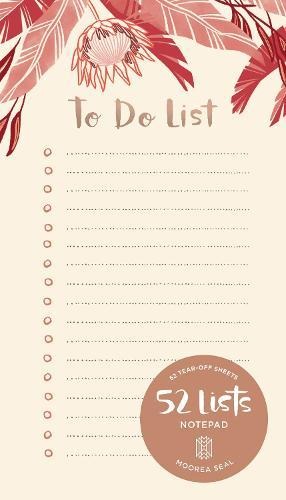 52 Lists To Do List Notepad