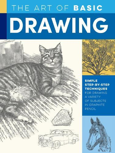 The Art of Basic Drawing: Simple step-by-step techniques for drawing a variety of subjects ingraphitepencil