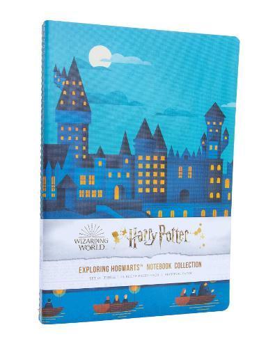 Harry Potter: Exploring Hogwarts SewnNotebookCollection