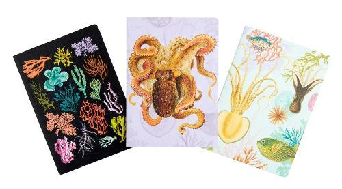 Art of Nature: Under the Sea SewnNotebookCollection