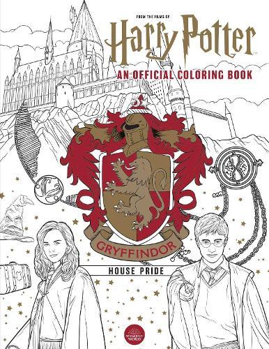 Harry Potter: Gryffindor House Pride: The Official Coloring Book: (Gifts Books for Harry Potter Fans, AdultColoringBooks)