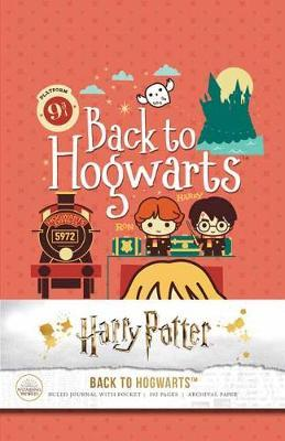 Harry Potter: Back to Hogwarts HardcoverRuledJournal
