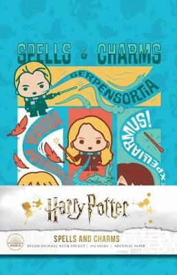 Harry Potter: Spells and Charms HardcoverRuledJournal