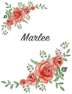 Marlee: Personalized Composition Notebook - Vintage Floral ...