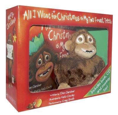 All I Want For Christmas is My Two Front Teeth Giftset with Plush