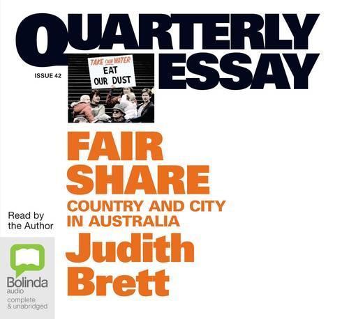 Fair Share: Country & cityinAustralia