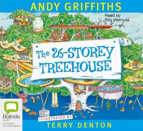 The 26-Storey Treehouse (Audiobook)