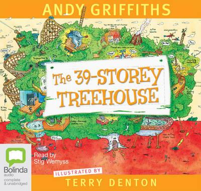 The 39-Storey Treehouse (Audiobook)
