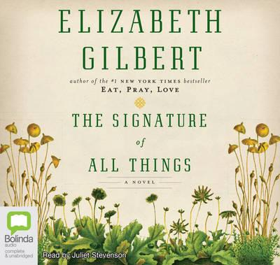 The Signature Of All Things (Audiobook)