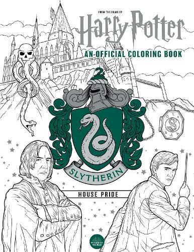 Harry Potter: Slytherin House Pride - The OfficialColouringBook