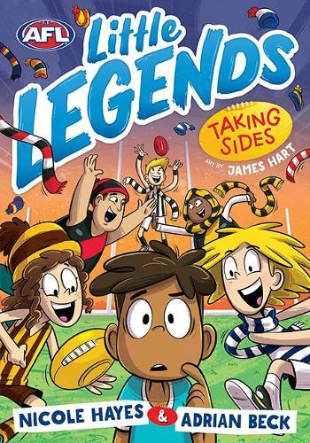 Taking Sides( AFL Little Legends, Book 2)