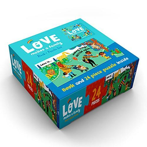 Love Makes a Family Book andPuzzleSet