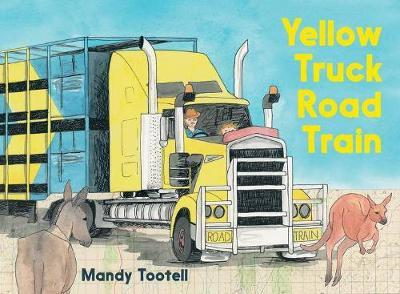 Yellow TruckRoadTrain