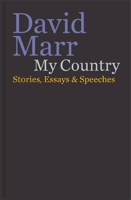 My Country: Stories, Essays & Speeches