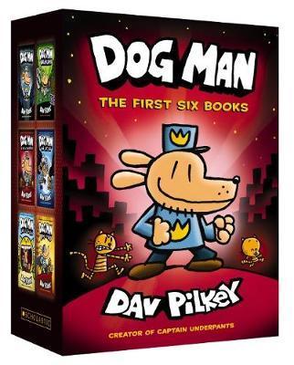 Dog Man: The First Six BooksBoxSet