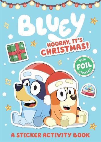 Bluey: Hooray, It's Christmas! (A StickerActivityBook)