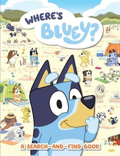 Where's Bluey?: ASearch-and-FindBook