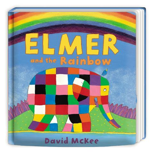 Elmer and the Rainbow:BoardBook