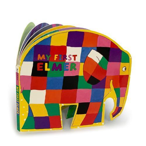My First Elmer: ShapedBoardBook