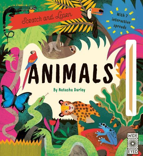 Scratch and Learn Animals: With 7interactivespreads