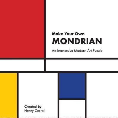 Make Your Own Mondrian:A ModernArtPuzzle