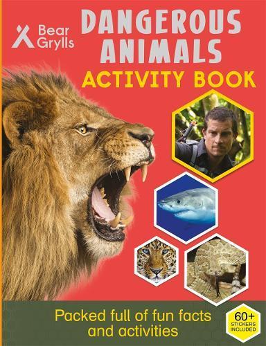 Bear Grylls Sticker Activity:DangerousAnimals