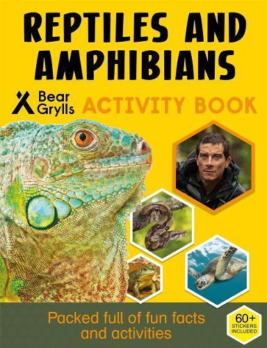 Bear Grylls Sticker Activity: Reptiles&Amphibians