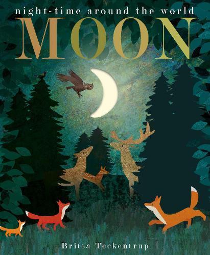 Moon: night-time aroundtheworld