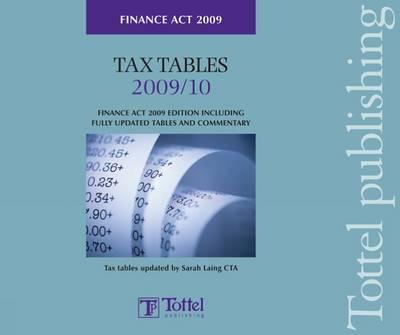 Tax Tables FinanceAct2009